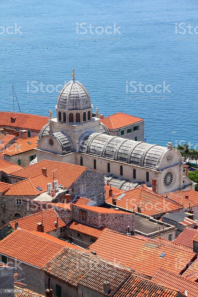 Croatia - Sibenik stock photo
