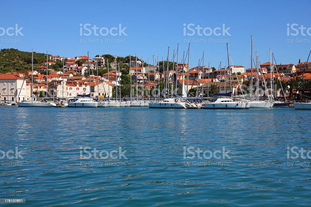 Croatia - Trogir royalty-free stock photo
