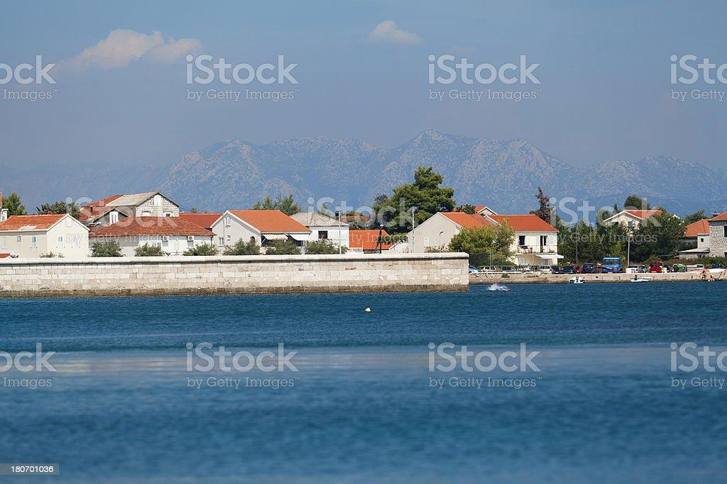 Croatian coastline royalty-free stock photo