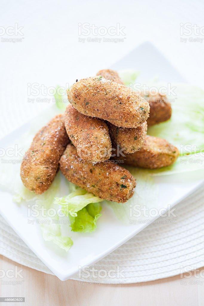 Crocche, Italian Appetizer stock photo