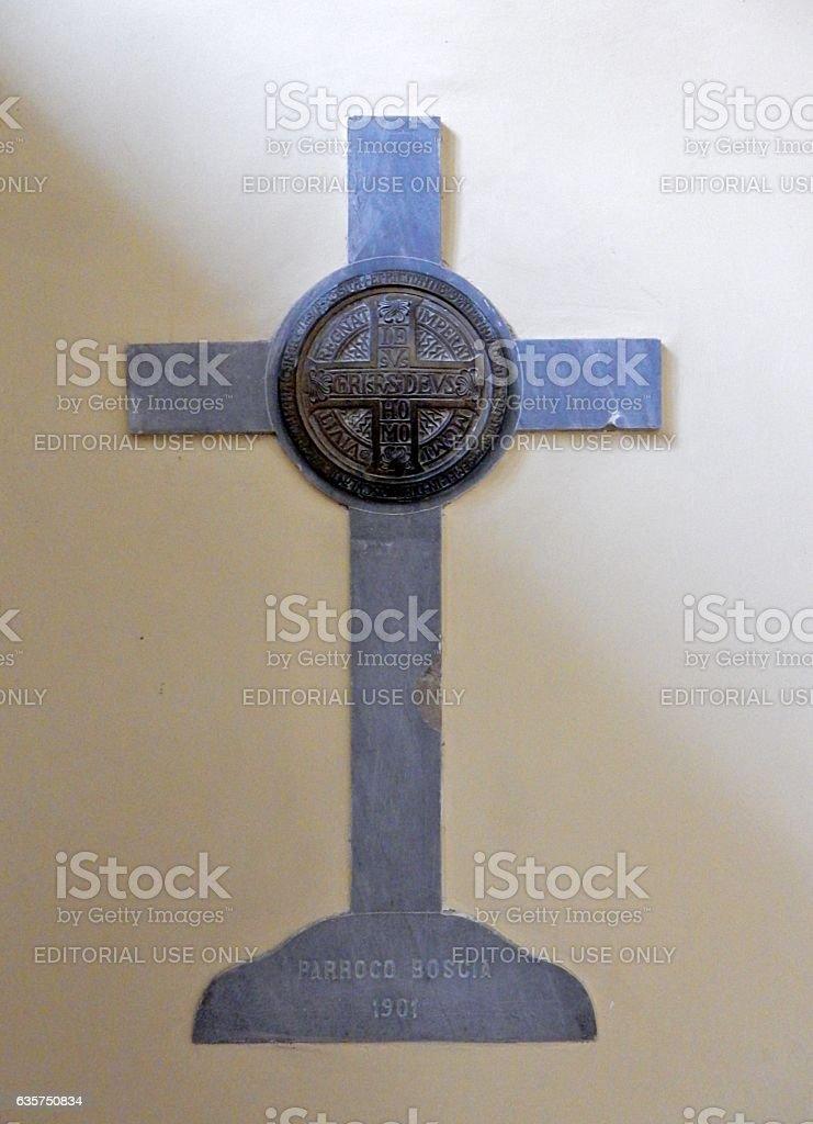 Croce delle indulgenze stock photo