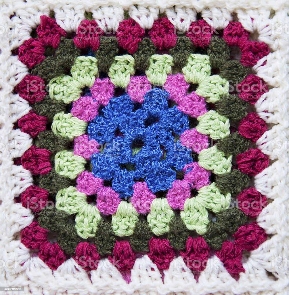 Crochet Blankets stock photo