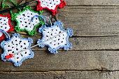 Crochet home decorations