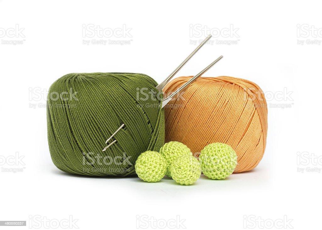 Crochet set royalty-free stock photo