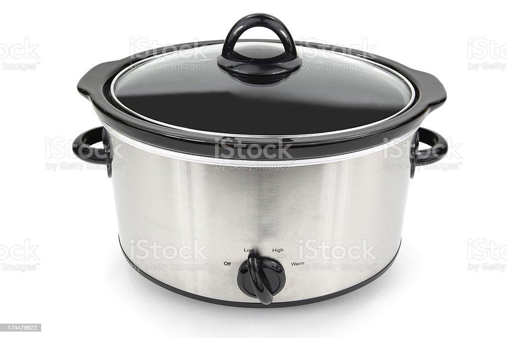 Crock Pot Isolated stock photo