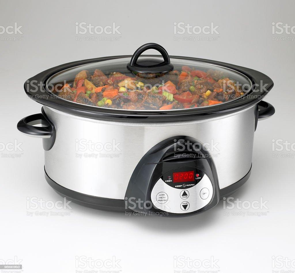Crock-pot stock photo