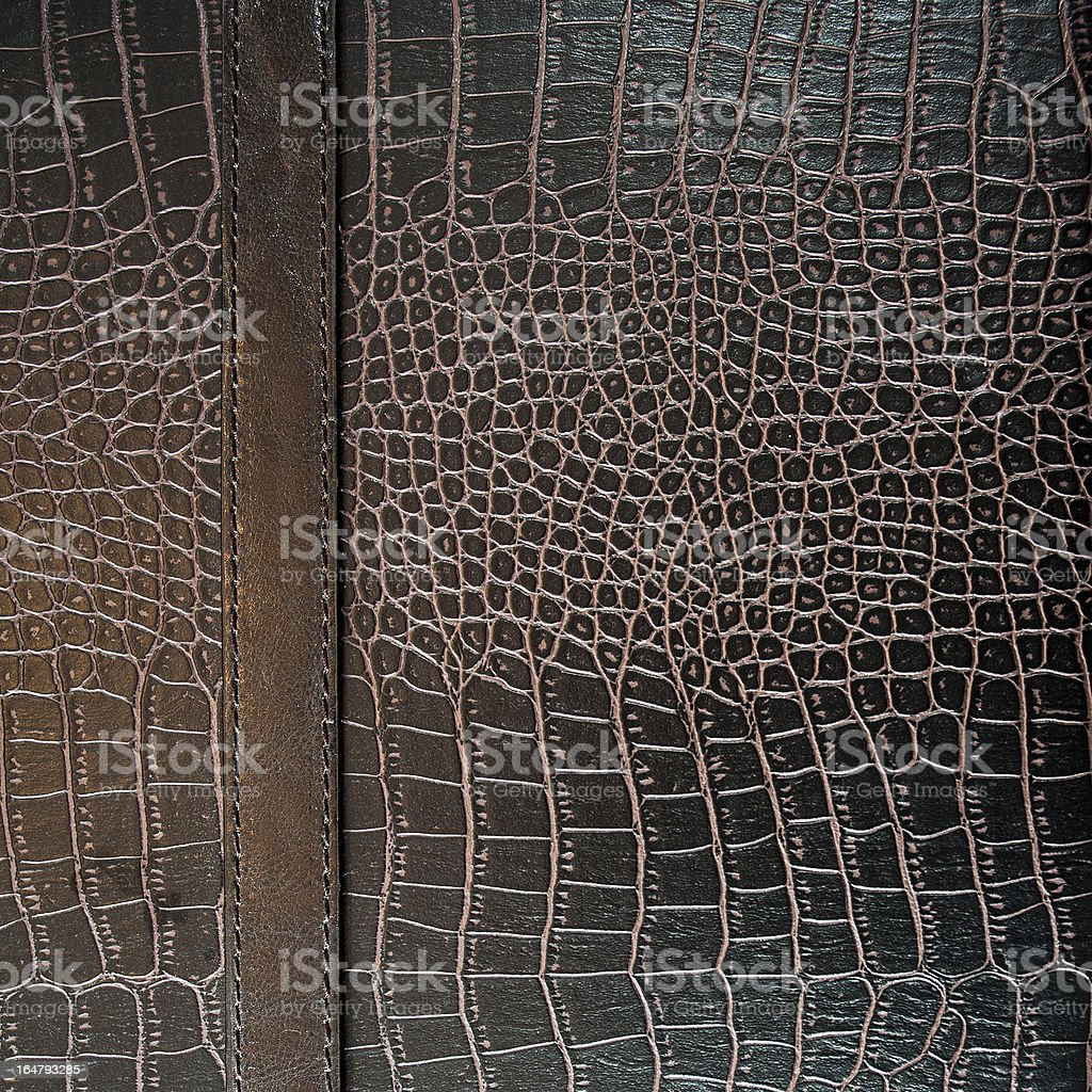 crocodile leather texture background royalty-free stock photo