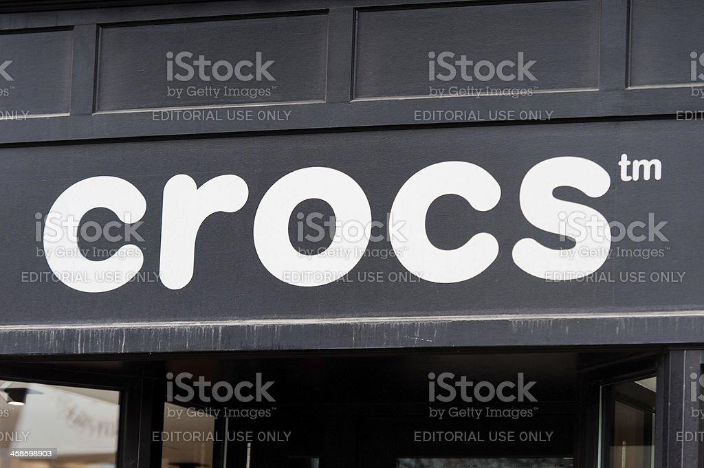 Crocs stock photo