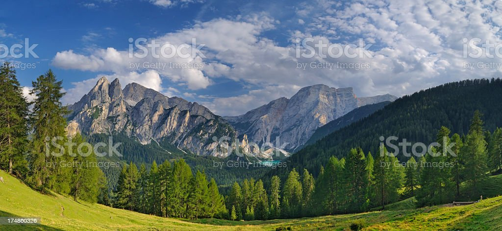 Croda Del Beco (Dolomiti - Italy) stock photo