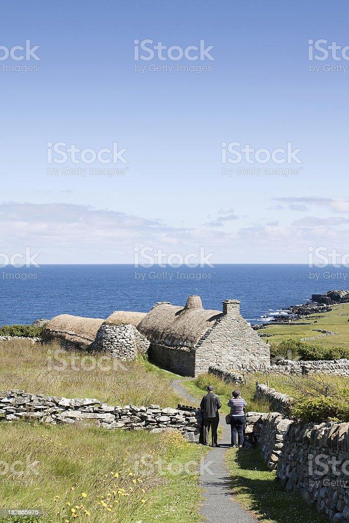 Croft House stock photo