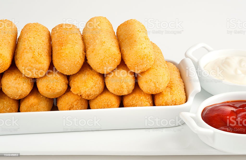 Croguette stock photo