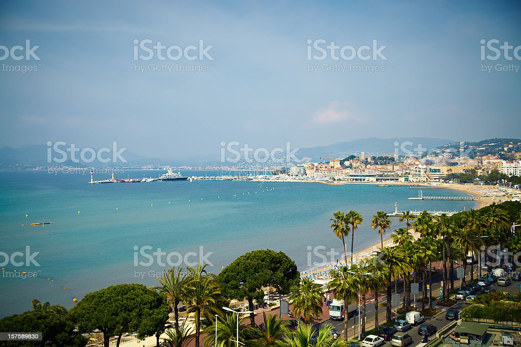 Croisette stock photo