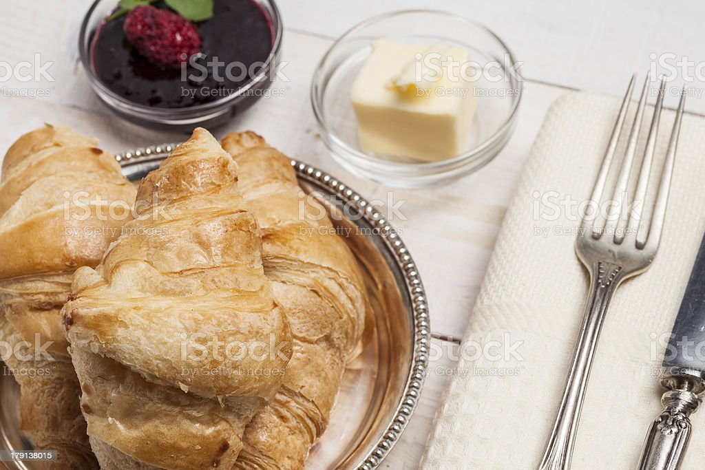 Croissant royalty-free stock photo