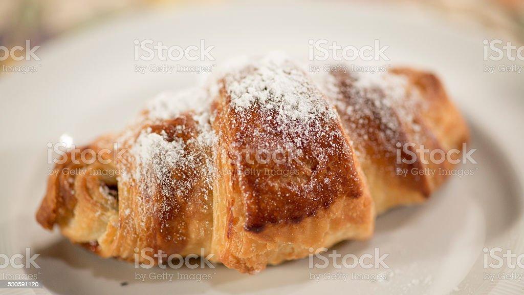 Croissant ( Macro ) stock photo