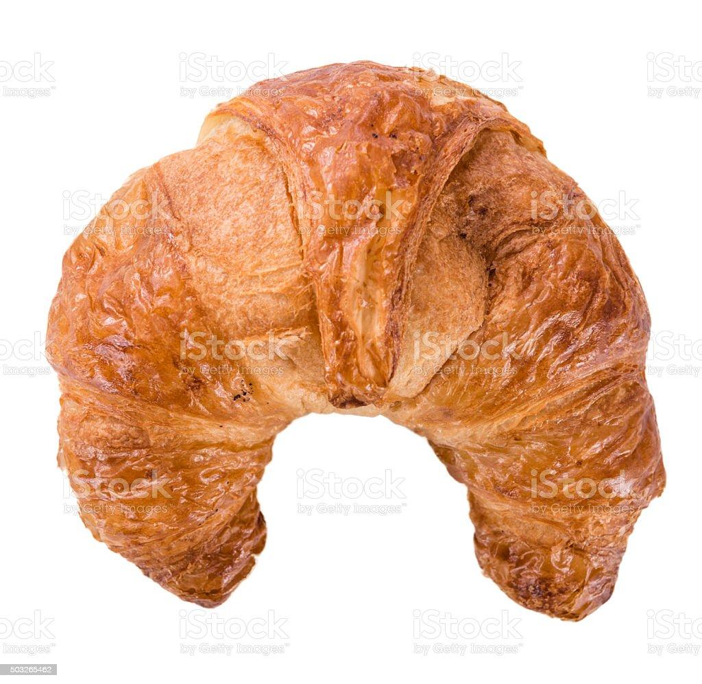 Croissants isolated on white stock photo
