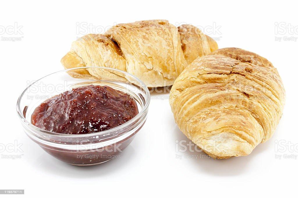 Croissants royalty-free stock photo