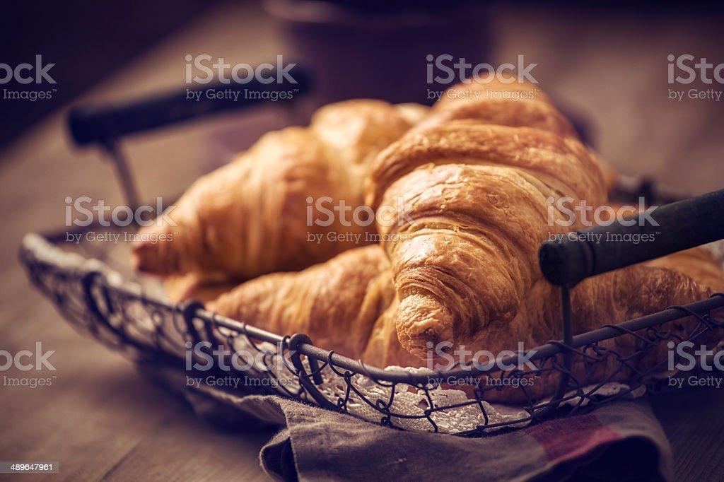 Croissants stock photo