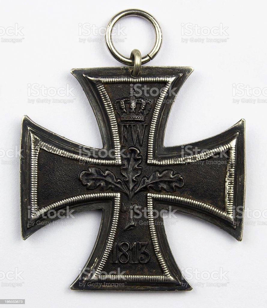 Croix de fer allemande 1914 1918 stock photo