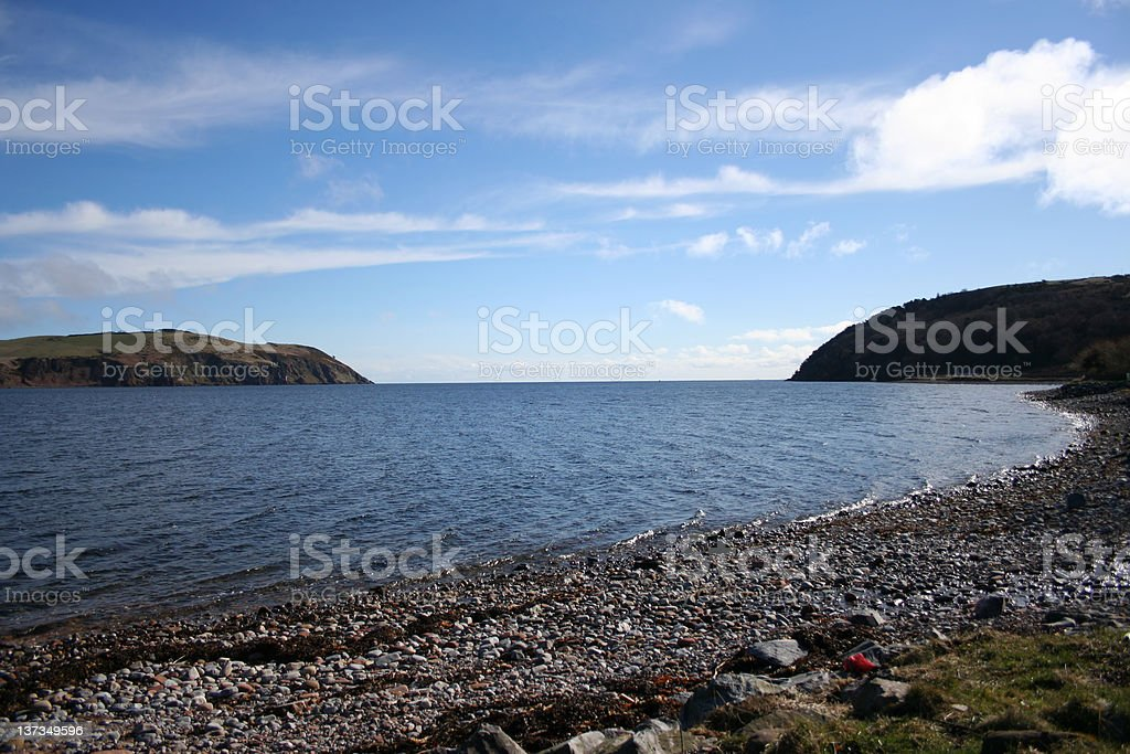 Cromarty Firth, Scotland royalty-free stock photo