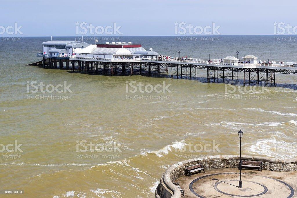 Cromer Pier Norfolk England UK royalty-free stock photo
