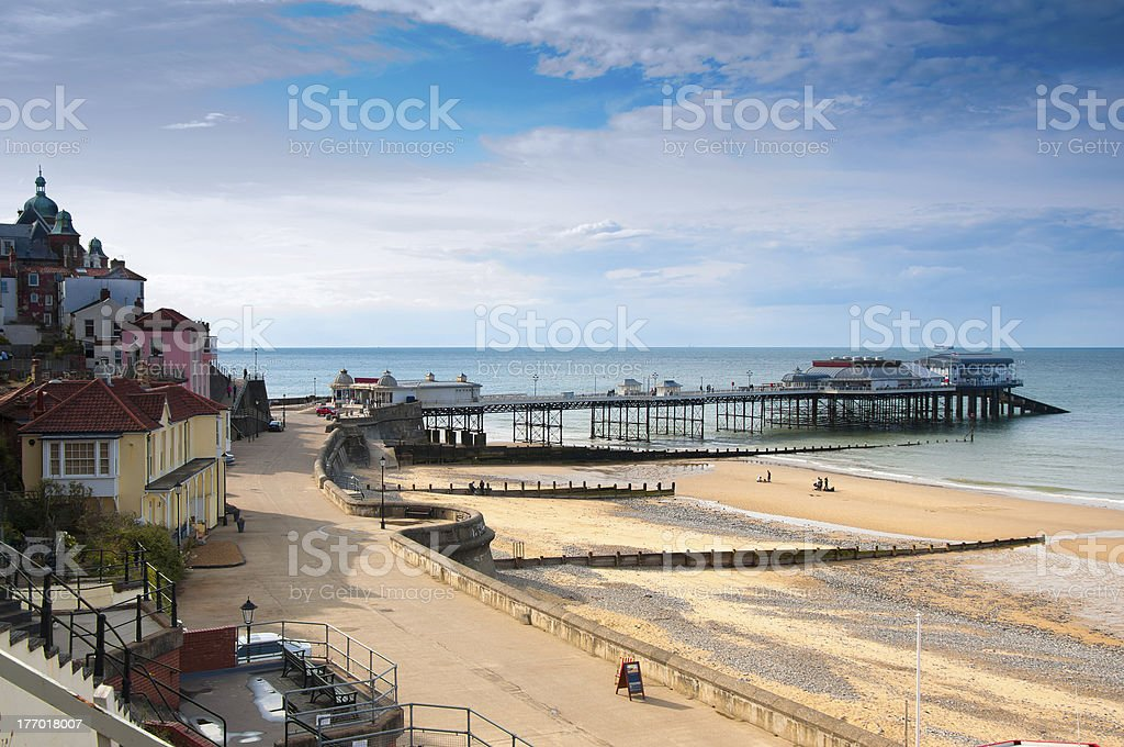 Cromer, seaside town in Norfolk, England stock photo