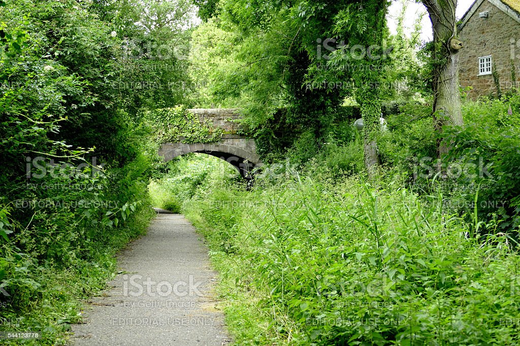 Cromford Canal. stock photo