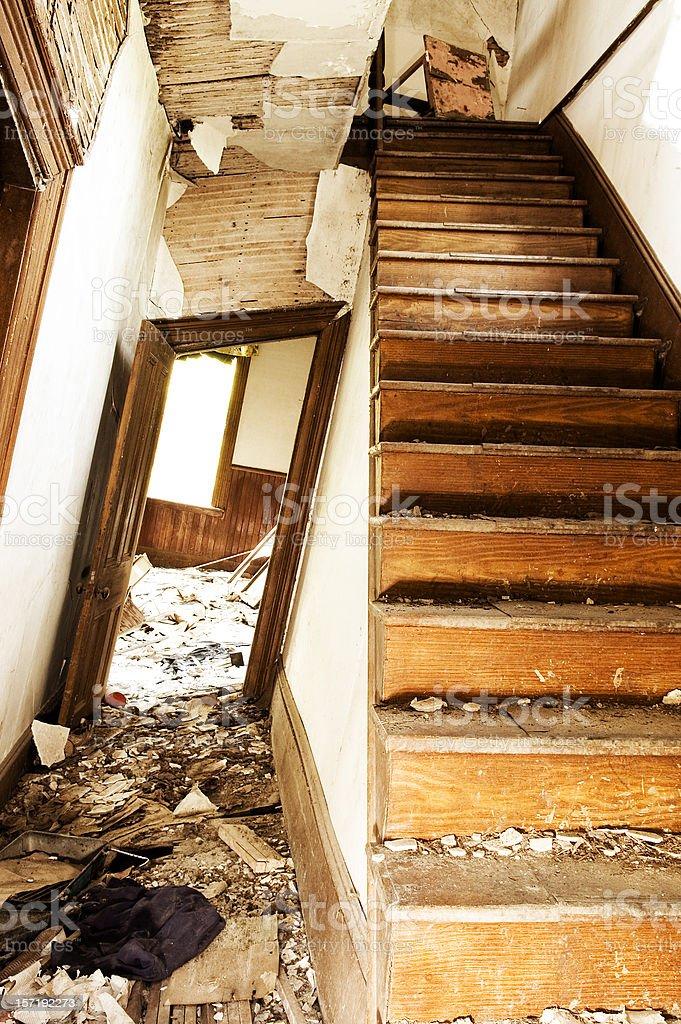 Crooked Interior royalty-free stock photo