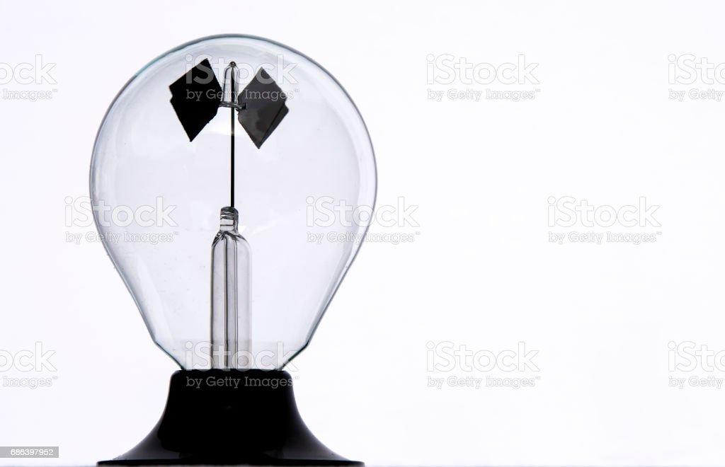 Crookes Radiometer stock photo