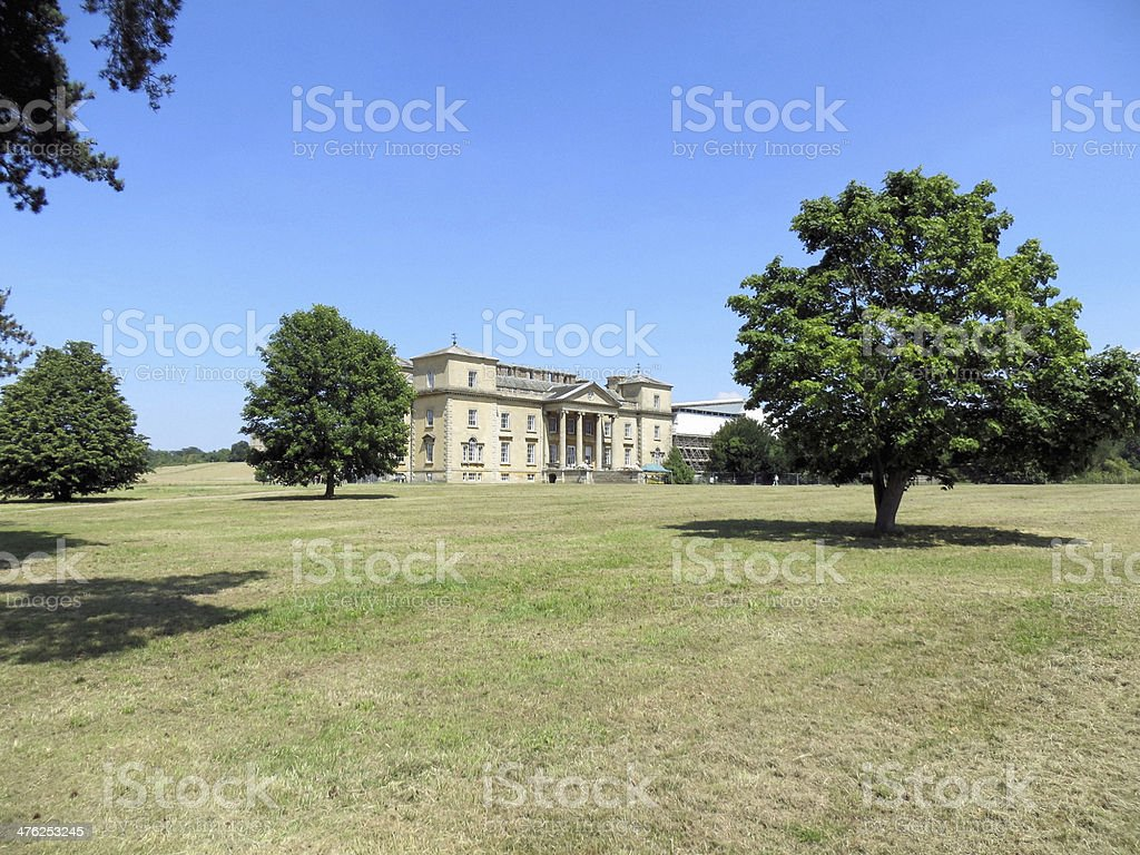 Croome Park grounds stock photo