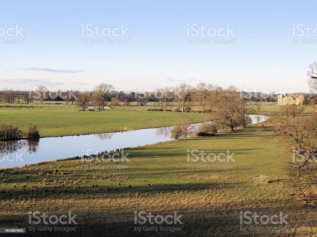 Croome Park stock photo