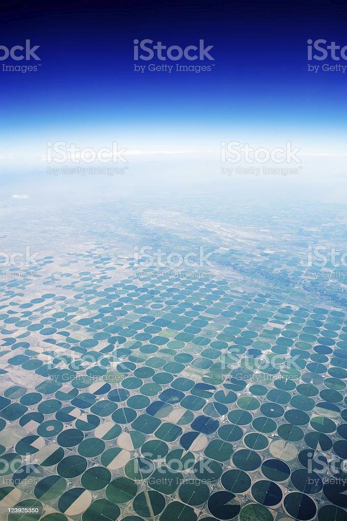 Crop Circles stock photo