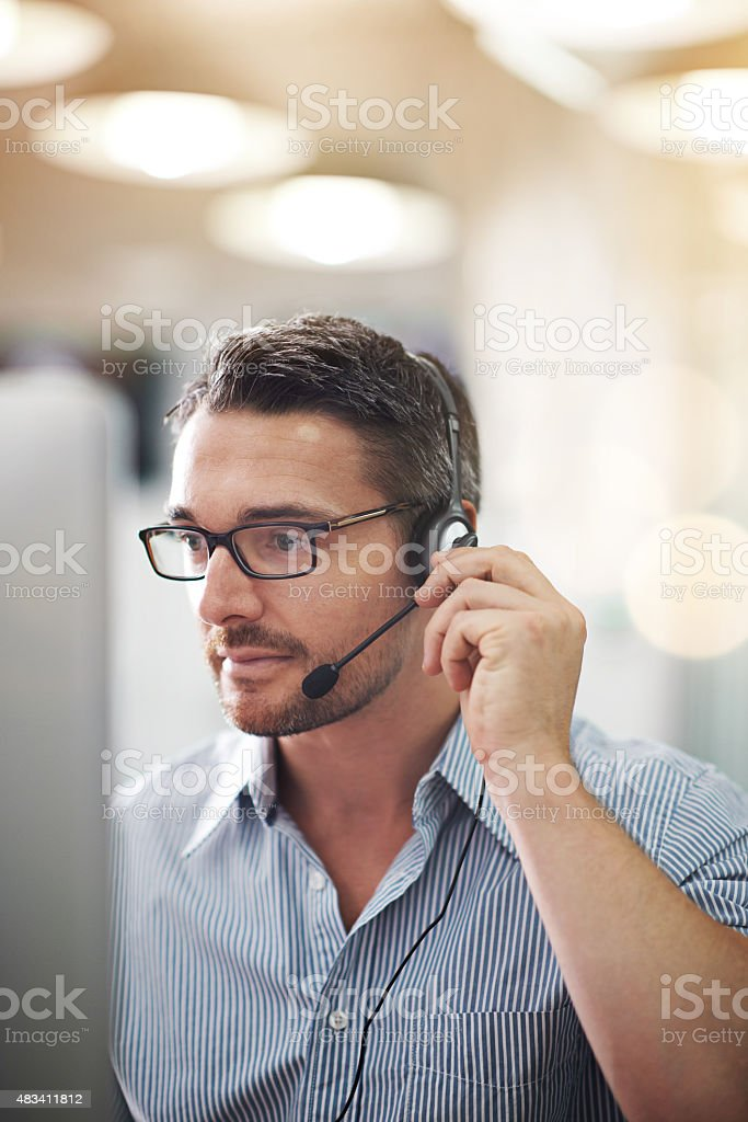 The job where you can cash in on your personality stock photo