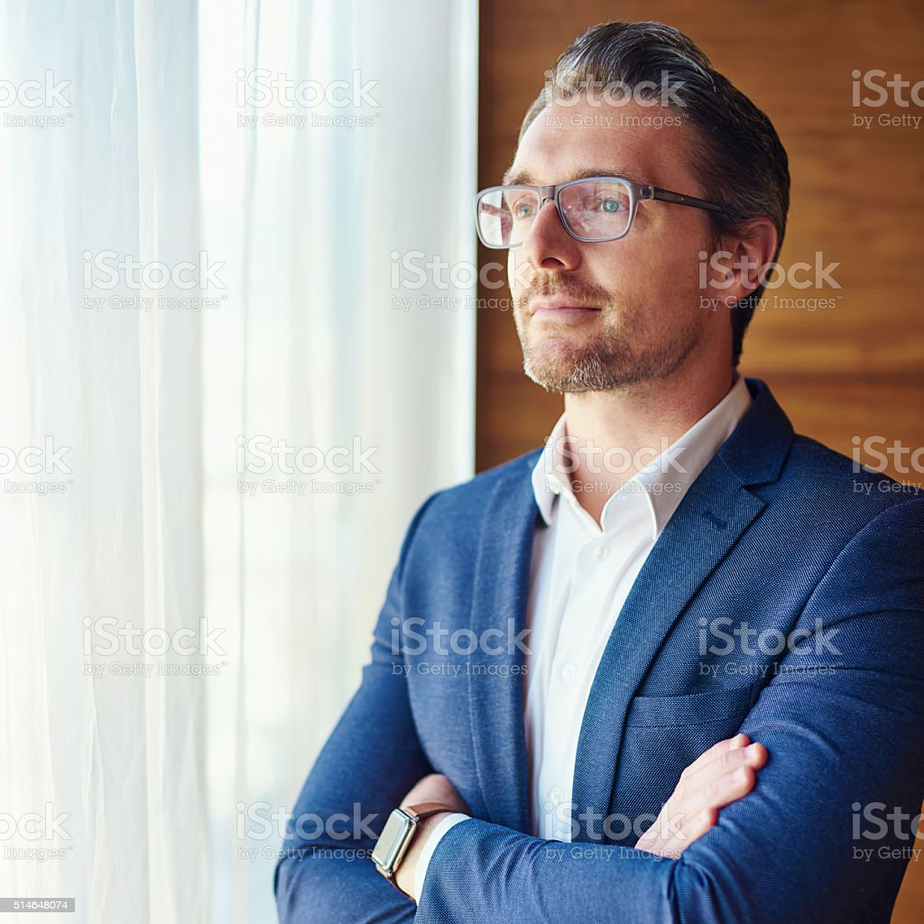 You achieve what you believe stock photo