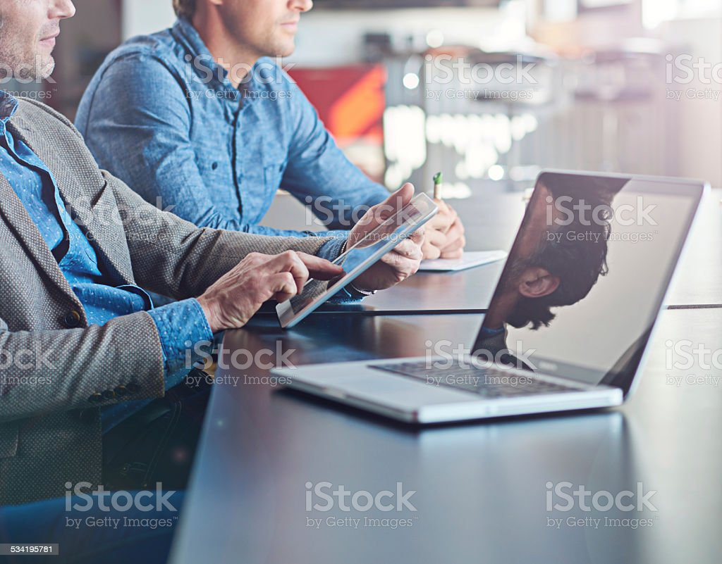 Devices for modern business stock photo