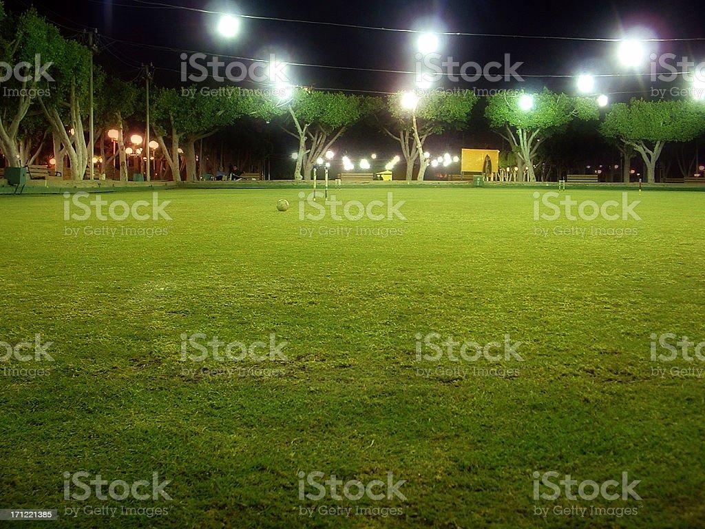 croquet Field royalty-free stock photo