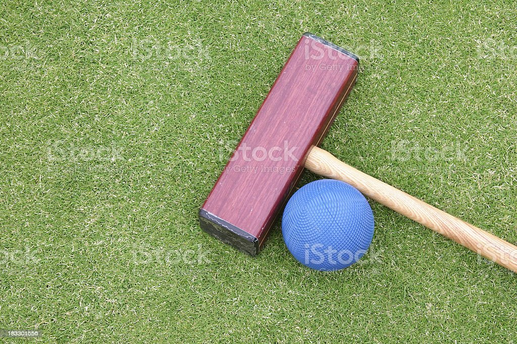 croquet stock photo