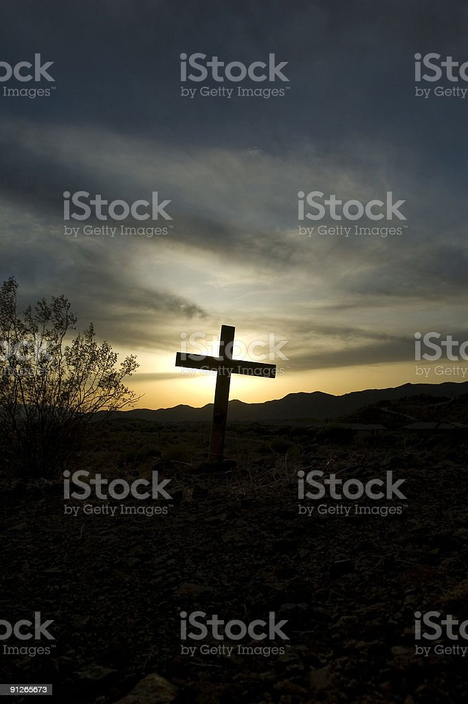 Cross 02 royalty-free stock photo