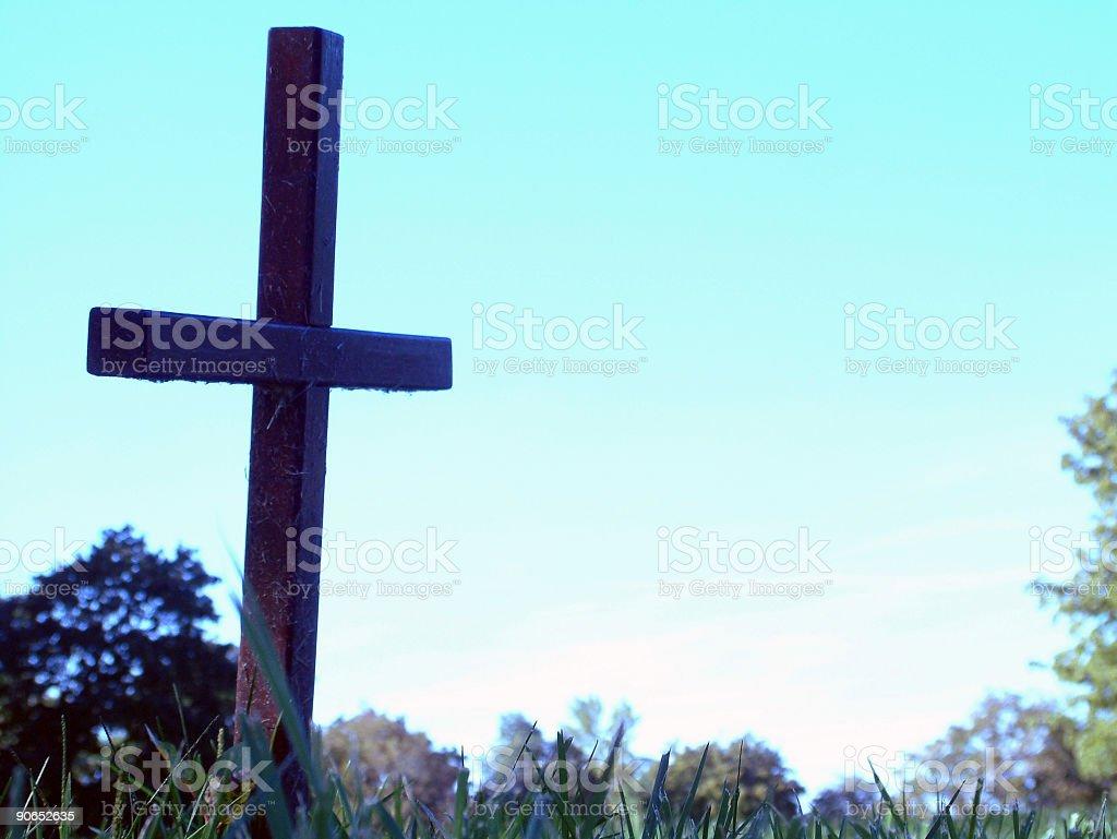 Cross 2 stock photo