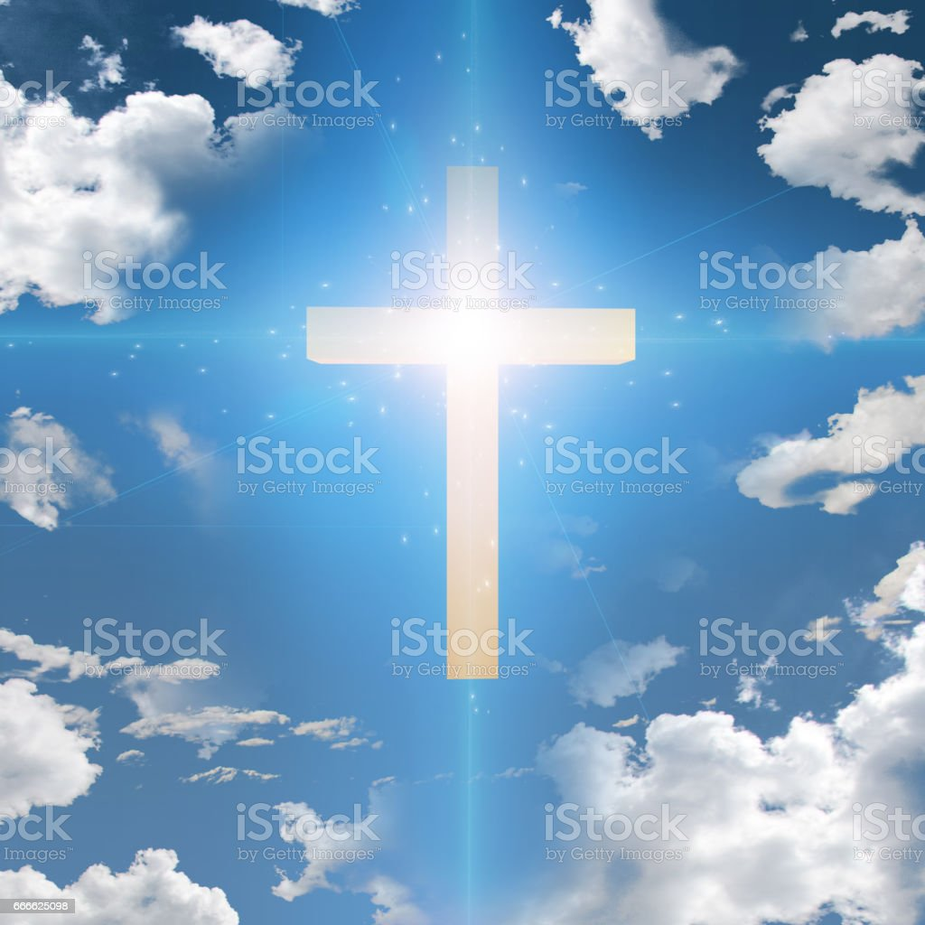 Cross Abstract stock photo