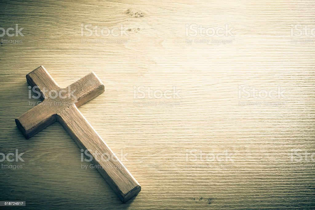 Cross background concept stock photo