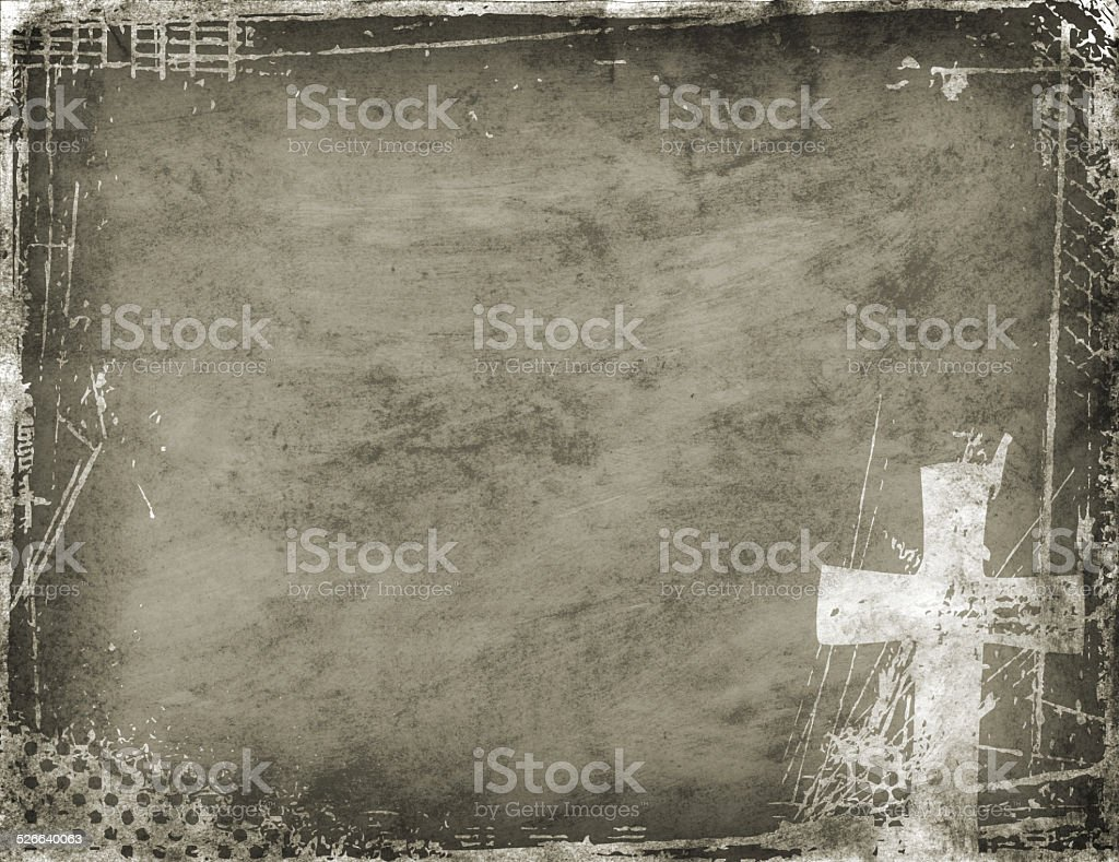 Cross Background stock photo