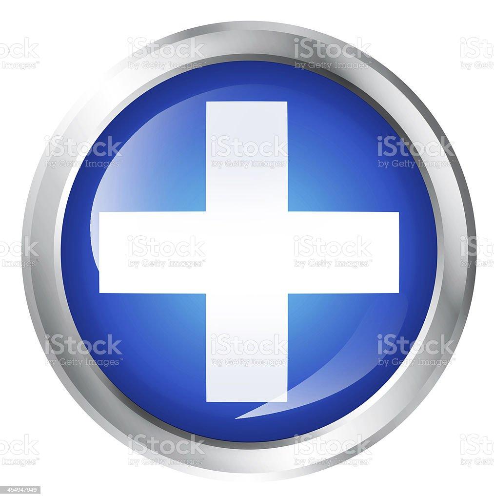 cross icon stock photo