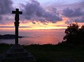 Cross in sunset 3