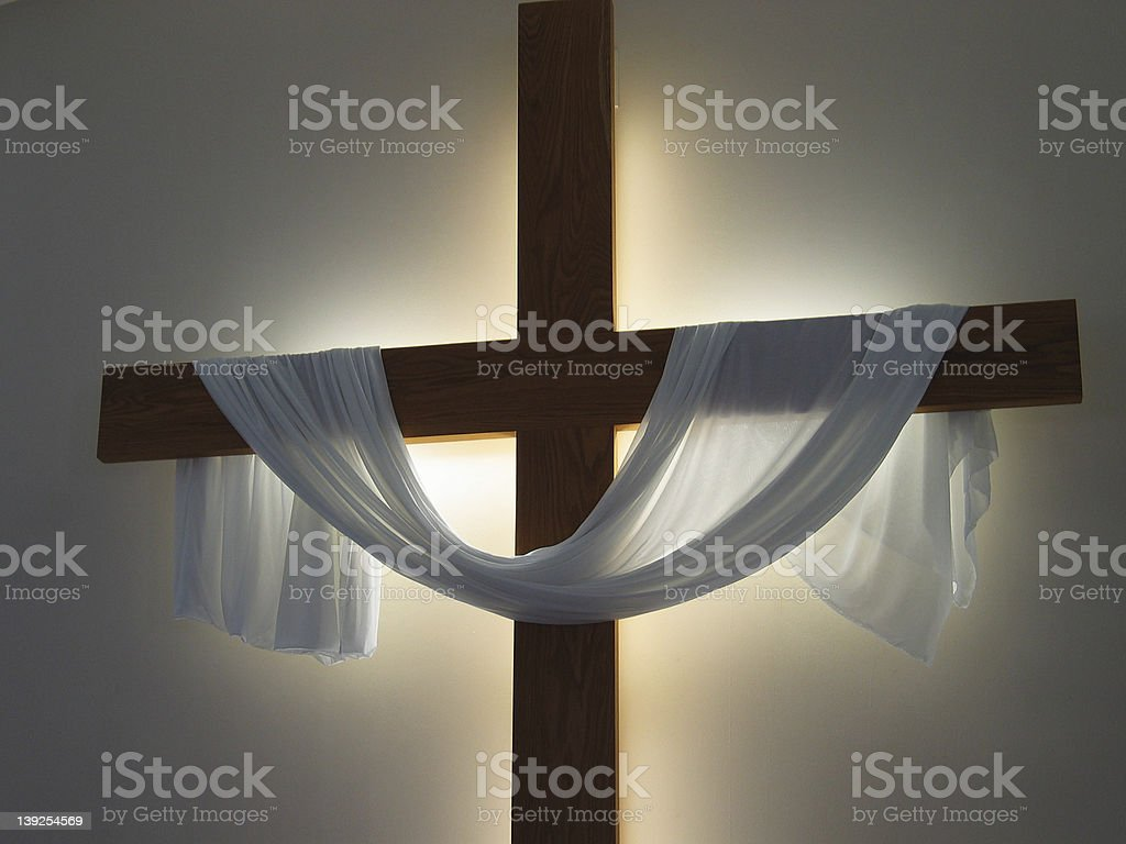 Cross of Christ royalty-free stock photo