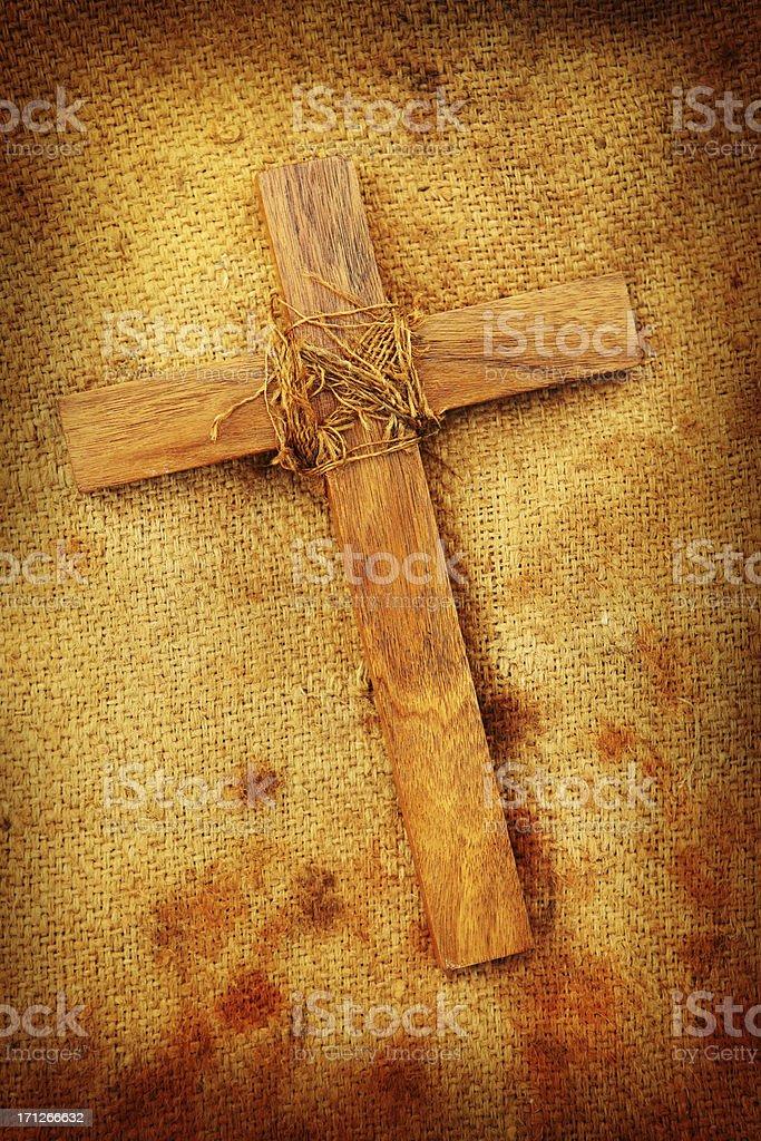 Cross of Faith royalty-free stock photo