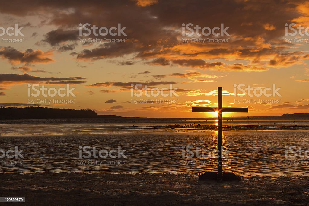 Cross Of Hope stock photo