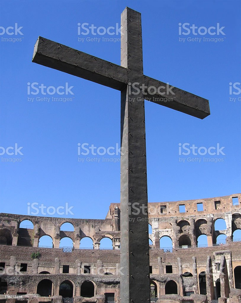 Cross of Martyrs royalty-free stock photo