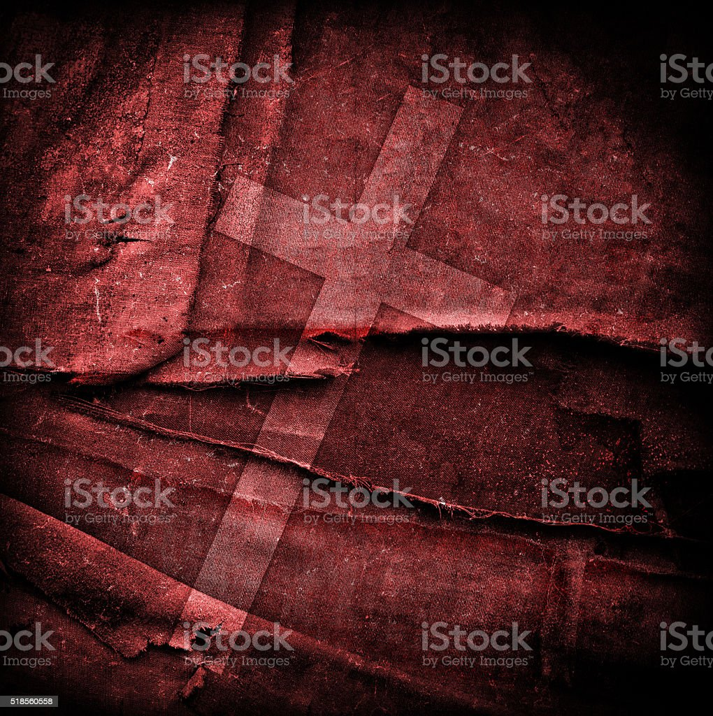cross on abstract grunge background stock photo