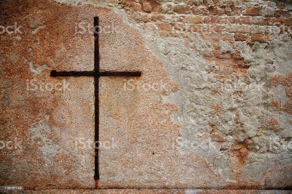 Cross royalty-free stock photo