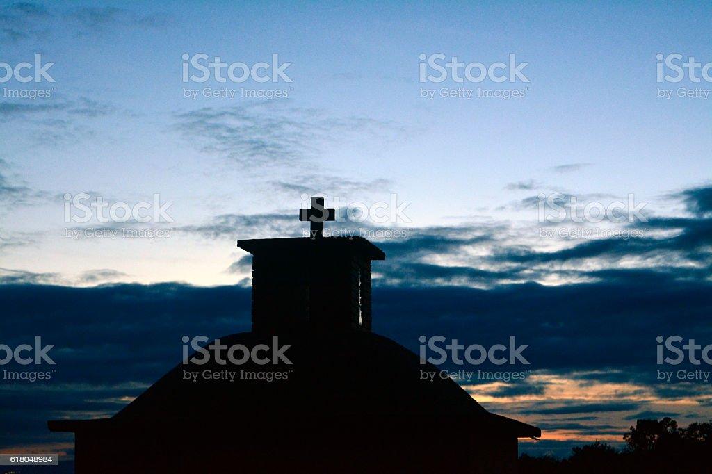 cross, religion, sky stock photo